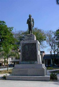 Jose Marti Statue Bayamo